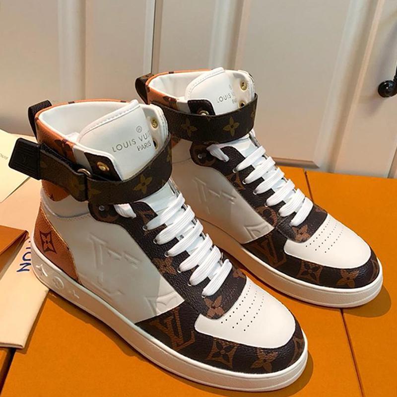 Luxe Hommes Chaussures de sport Bottes avec la boîte de haute qualité Trendy plat Chaussures de sport Boombox Sneaker Boot Chaussures De Hombre Chaussures Hommes Mode