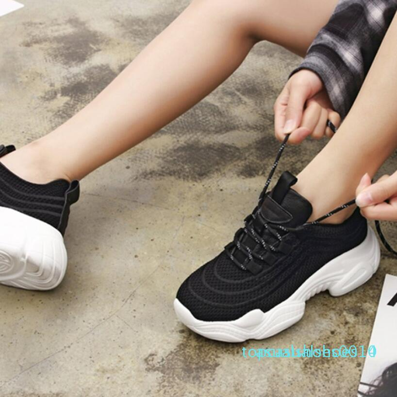 Frühjahr 2019 Mode Frauen tragen Neue Schuhe, Strumpfhosen, Sport Plattform Svářečství Frauen Sportschuhe C14