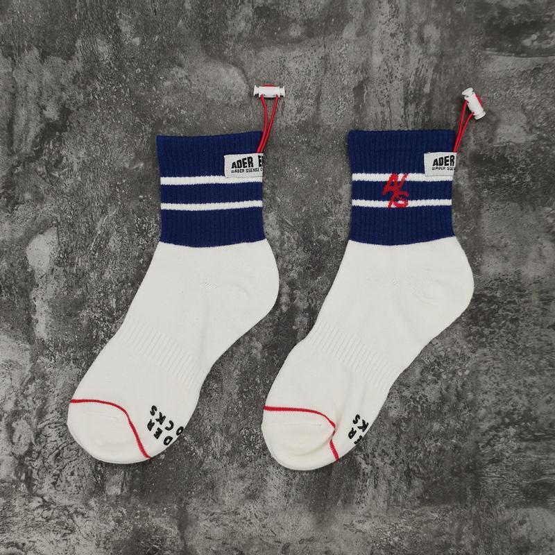 White in stock 20ss Socks Women Men Unisex 100% Cotton Basketball Socks