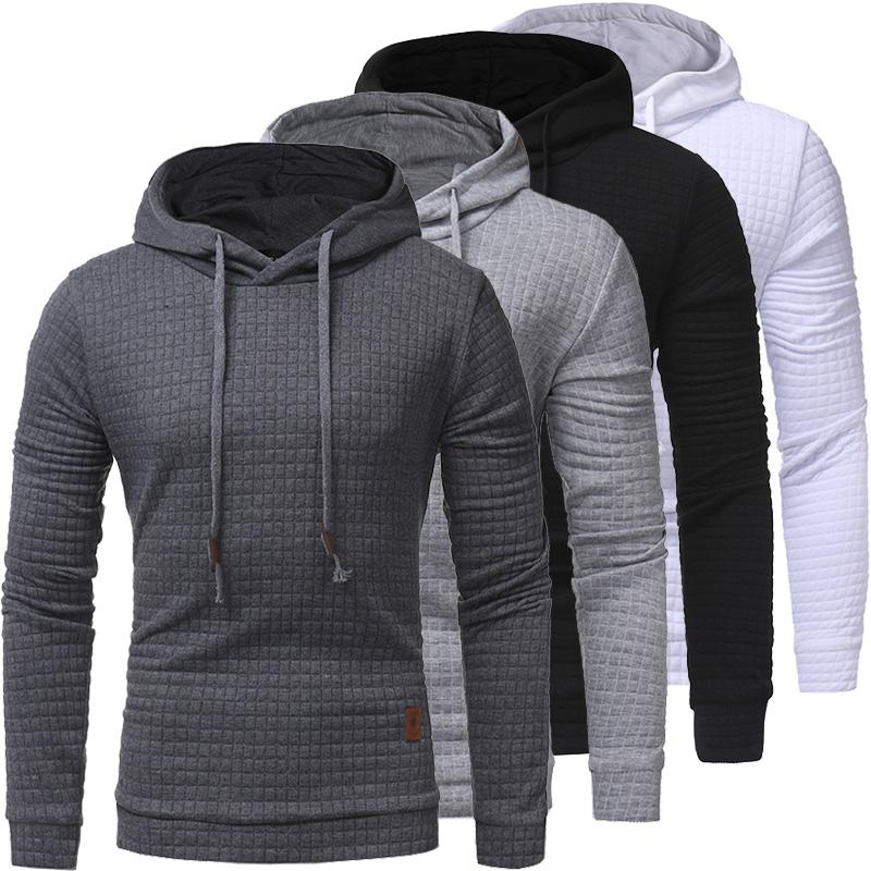2021 Hoodies masculinos do outono Slim moletom com capuz homens casacos masculinos casuais ao ar livre sportwear streetwear vestuário de moda tracksuit