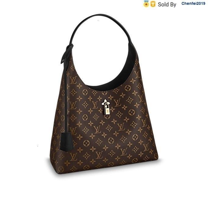 chenfei2019 IVN8 Flower Shoulder Canvas Leather M43545 Totes Handbags Shoulder Bags Backpacks Wallets Purse