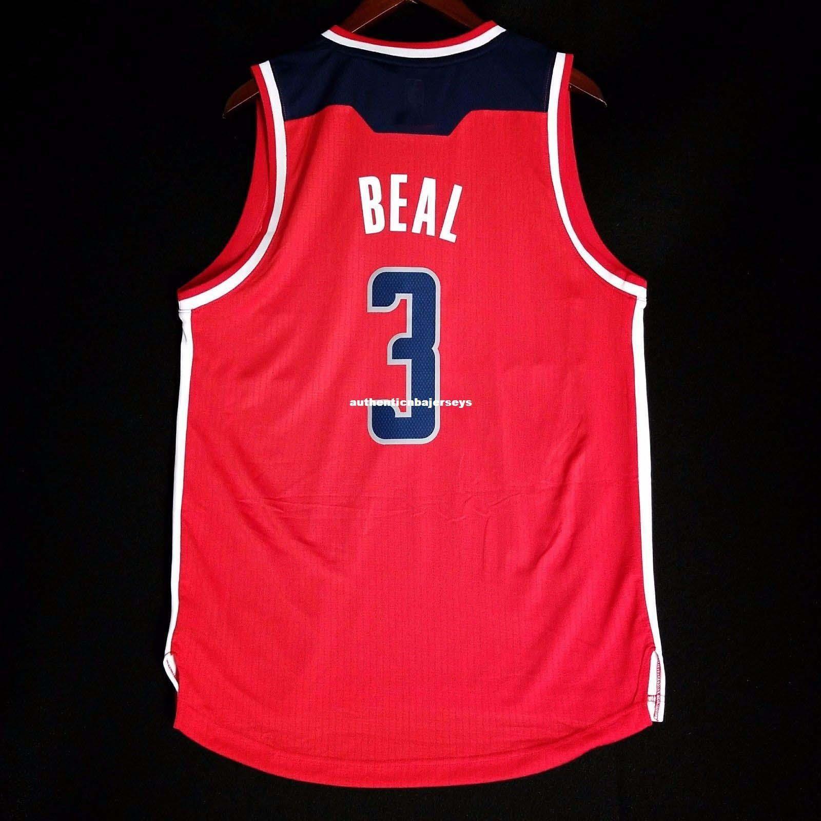 100% Stitched Bradley Beal Sewn vest Jersey Red wall john Mens Vest Size XS-6XL Stitched basketball Jerseys Ncaa