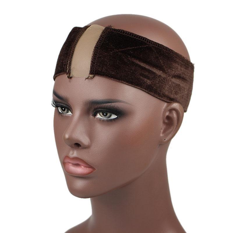 2020 Новой мода девушка женщин шнурок бархат Girp диапазон волос регулируемого парик Возьмитесь оголовьем мода Accesseries судебной волокиты Бесплатной доставка