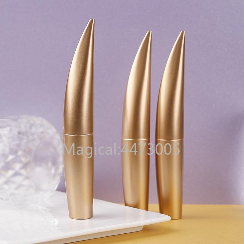 10/30 / 50pcs 15ml di bellezza portatile Vuoto mascara tubo del ciglio della fiala Liquid bottiglie contenitore oro opaco Bottiglie di trucco Accessori
