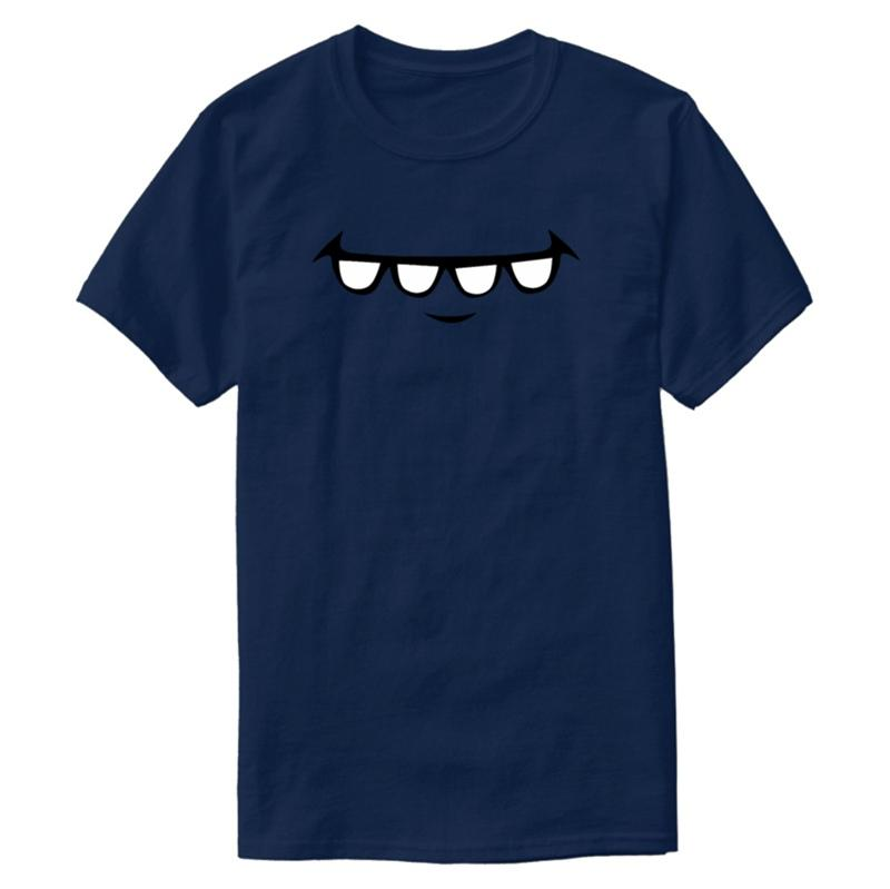 Customized Teeth Comic Funny T-Shirt For Mens Outfit Men's Tshirts Big Size 3xl 4xl 5xl Camisas Shirt Top Quality