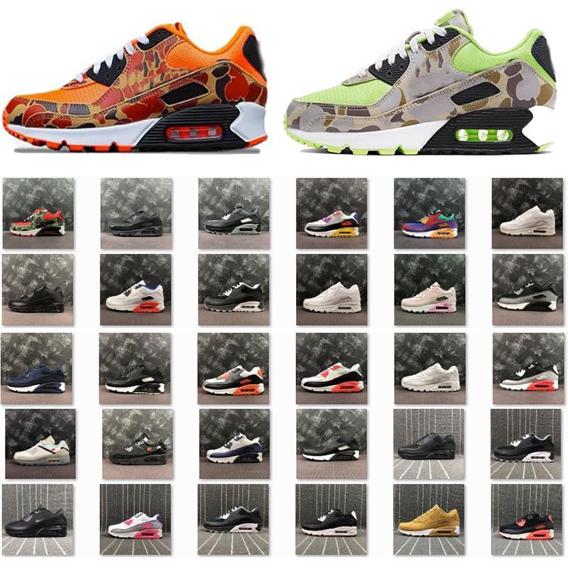 أعلى 90 أحذية أورانج كامو الأخضر الثلاثي اليورو جولة الذهبي 3M المحكمة جامعة بيربل السود إمرأة رجل OG حذاء رياضة مدرب مع صندوق 36-45