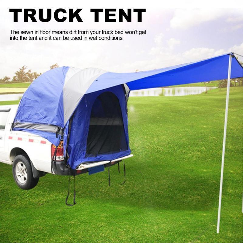 Impermeabile Auto Canopy Camper Carrello tenda attrezzature di campeggio esterna Auto Tenda per la spiaggia SUV MPV Hatchback Minivan Sedan