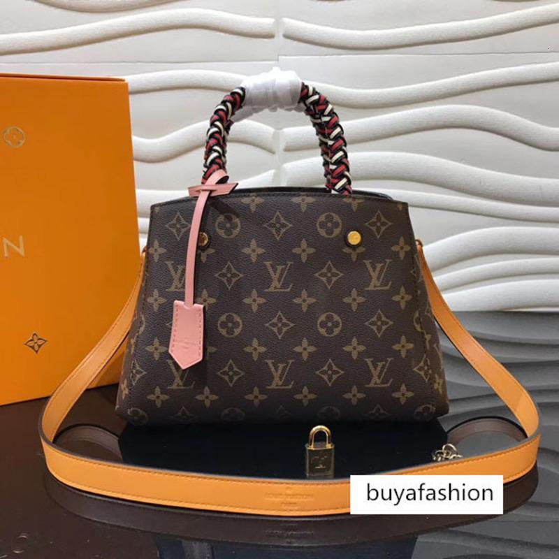 # 5897 5A Luxo L Moda Bolsas For Women Classic V Ladies Messenger Bags Crossbody macia Único Shoulder Bag Purse