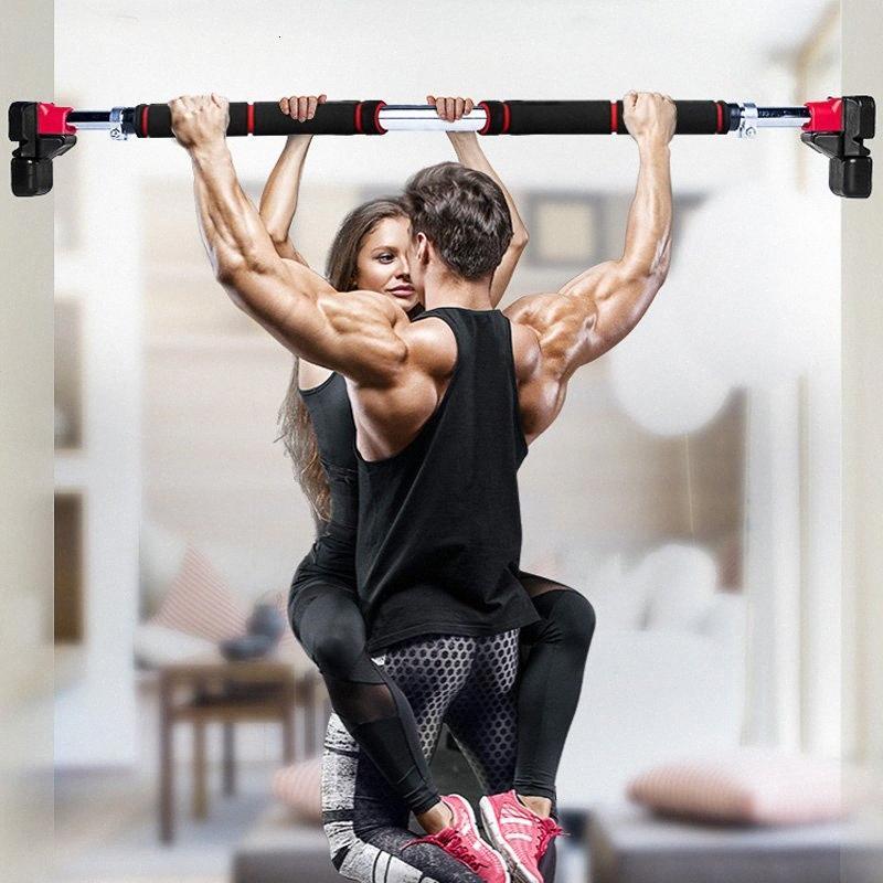 200kg Donne Uomini regolabile Porta orizzontale Barre Workout esercizio professionale Palestra Pull Up Training Sport Home Fitness Attrezzature 8PZH #