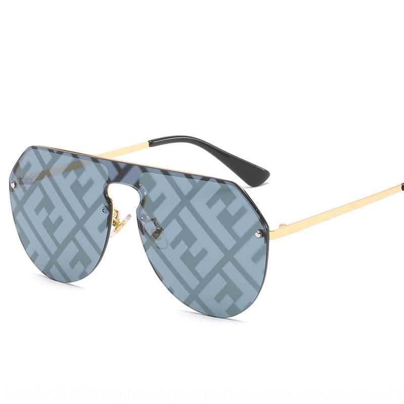 FF mode d'une seule pièce soleil objectif wo 2019 nouveau soleil grand-shot de la rue des hommes de cadre et des femmes lunettes de soleil lunettes mode