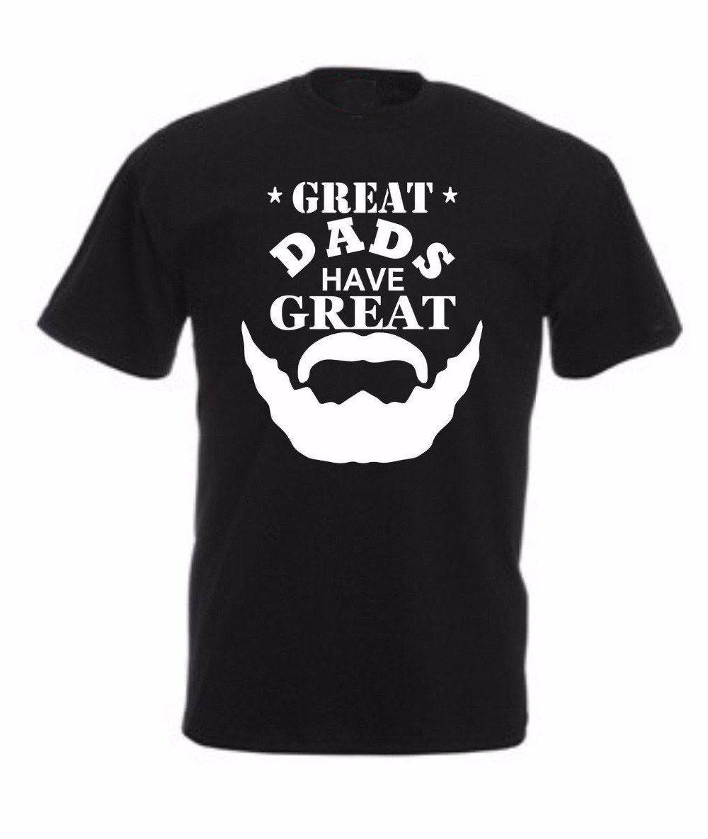 Hip Hop-T-Shirt Vatertag T-Shirt Geschenk Weihnachten Papa Geburtstag O Ansatz Bearded