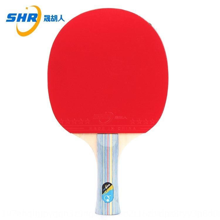 Wuyi ténis de mesa de ténis de dupla face anti-cola raquete acabado recta transversal álamo de sete camadas quantidade raquete placa de fundo