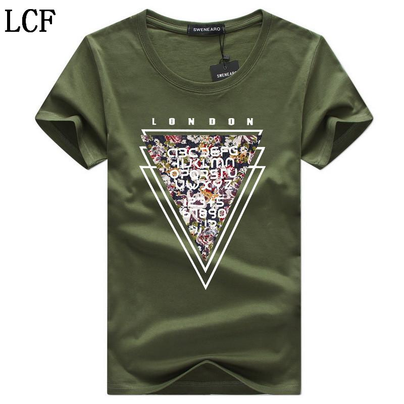 Men's T-Shirts summer Casual O-Neck Breathable brand T Shirt men Short Sleeve 9 color Cotton Tops Tees Men size 5XL C-7