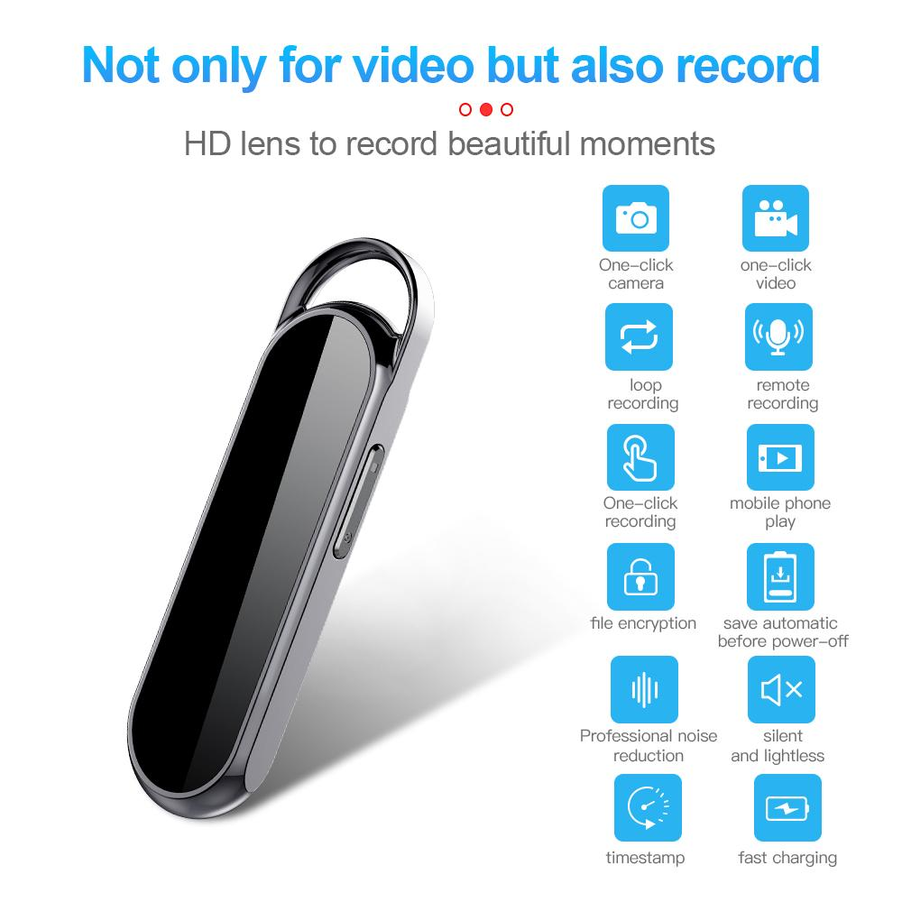 D8 Key chain mini Camera digital voice recorder Full HD 1080P KeyChain MINI DV Camcorder Digital Audio Video Recorder with 8GB 16GB