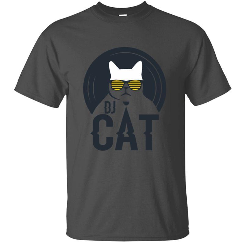 Drôle Casual Building chat dj Katze t hommes shirt femmes 2020 taille unisexe S-5XL hommes de lettres t-shirt à manches courtes humoristique