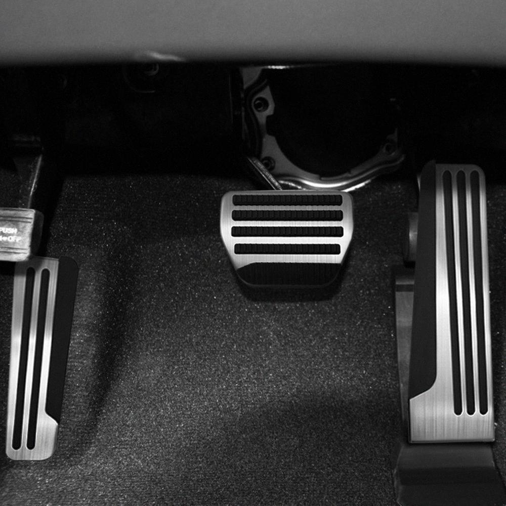 3Pcs Car Foot Rest Footrest Accelerator Fuel Gas Brake Pedal Pads Covers For Infiniti G25 G35 G37 Q50 Q60 EX25 QX50 QX70 rPJR#