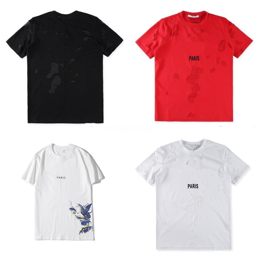 Aelfric Eden Lettera Anime 3D Stampa Hip Hop T-shirt 2020 Estate manica corta Harajuku supera i T Cotton Streetwear maglietta casuale T01 # QA766