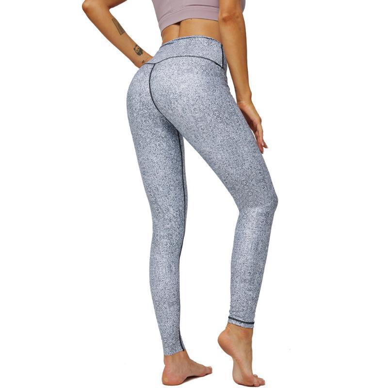 Yoga Kıyafetler 2021 Seksi kadın Pantolon Spor Salonu Eğitim Legging Cep Ile Push Up Egzersiz Dikişsiz Elastik Kalçalar Pantolon