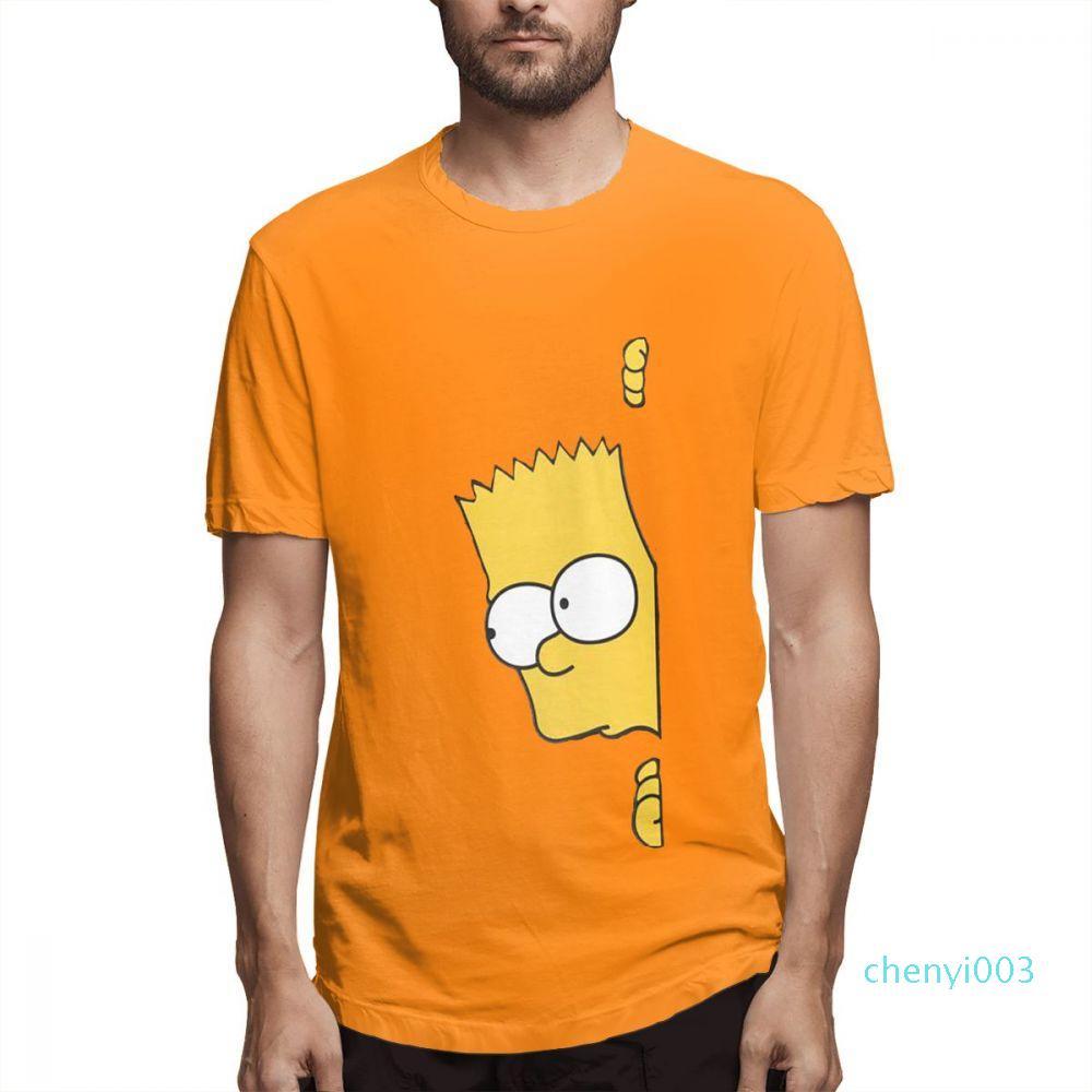 Algodón Los Simpson camisas del diseñador de moda para mujer para hombre camisas de manga corta camiseta Los Simpson Impreso T Shirts causal c3702c03
