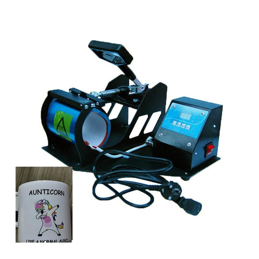 Özelleştirme Kupalar Baskı Fotoğraf Kupası Pişirme Presi Renk Değişimi A03 için Sublime Isı Presi Isı Transferi Makinesi