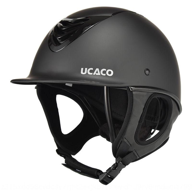 uClyX UCACO ecuestres requisitos particulares de protección del casco de seguridad del casco de protección infantil para adultos transpirable chaleco suministros caballo seguridad de conducción h