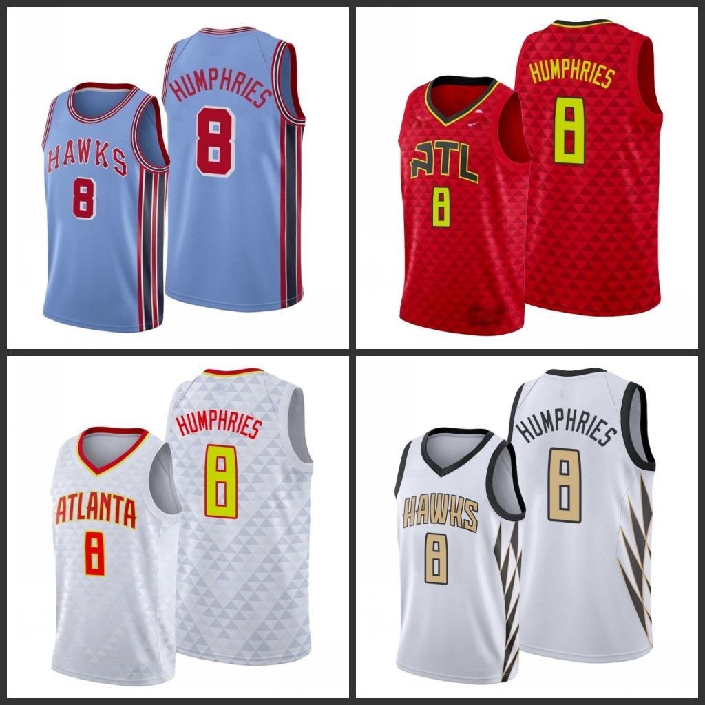 Atlanta.Hawks.Isaac Humphries Homens City Basketball Jersey