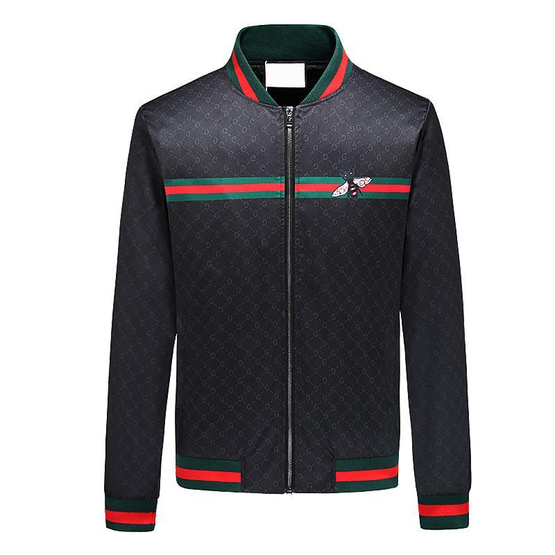 mens de venta diseñador de la chaqueta de diseño caliente de lujo 2020 nuevo de la manera capa de la chaqueta con la cremallera sudaderas con capucha para los hombres Sportwear