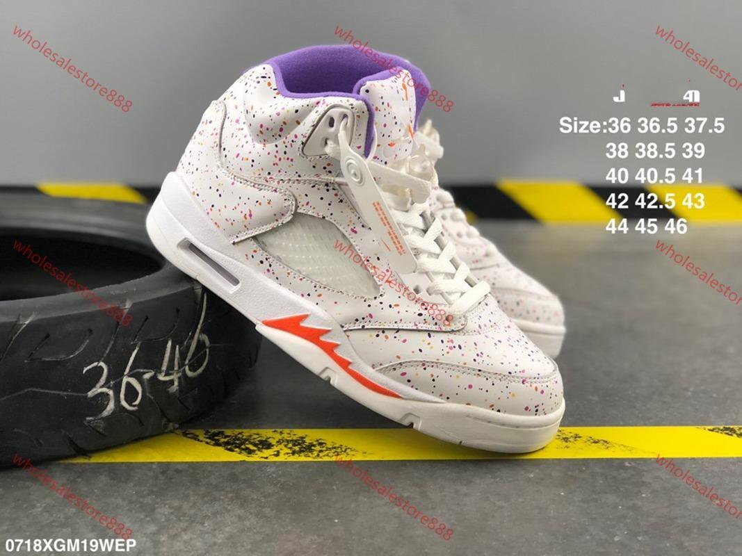 Yüksek kaliteli 5S Basketbol Spor Ayakkabı lusso Erkek tasarımcı Sneakers 4 eğitmenler siyah Altın gri SARI beyaz ArmyGreen Ayakkabı