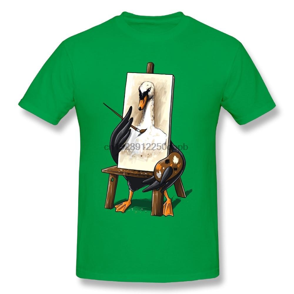 Unique Homme vilain petit canard T-shirt col rond T-shirt personnalisé coton