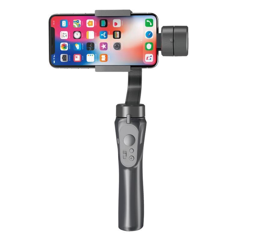 EPACK H4 패키지와 휴대 전화 핸드폰 스마트 폰 셀카를 들어 3 축 휴대용 블루투스 카메라 H4 핸드 헬드 짐벌 안정제