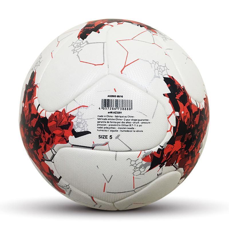 الحجم الرسمي 5 PU كرة القدم الكرة كرة القدم بطل 2018 مسابقة رياضة تدريب كرة القدم المحترفين الكرة للكبار