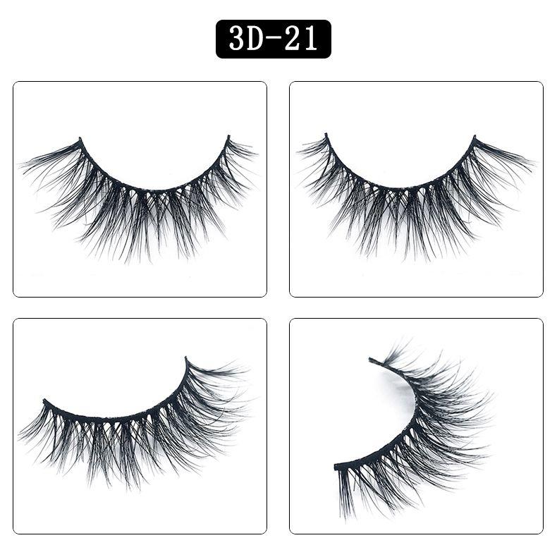 cílios simulação Natural Mink cabelo Big 3D 25 Estilos de Longo dramáticas 3d vison 25mm pestanas macias brilhantes olhos cílios caixa cílios mala