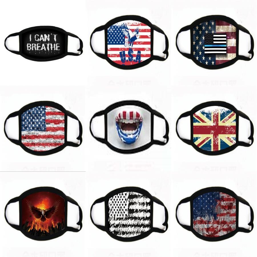 Atem Valve Anti-Staub-Gesichtsmasken PM2.5 Anti Haze Mund Er Staubdichtes Schutz Earhook Masken Radfahren Designer Maske GGA3378-3 # 382 Mask