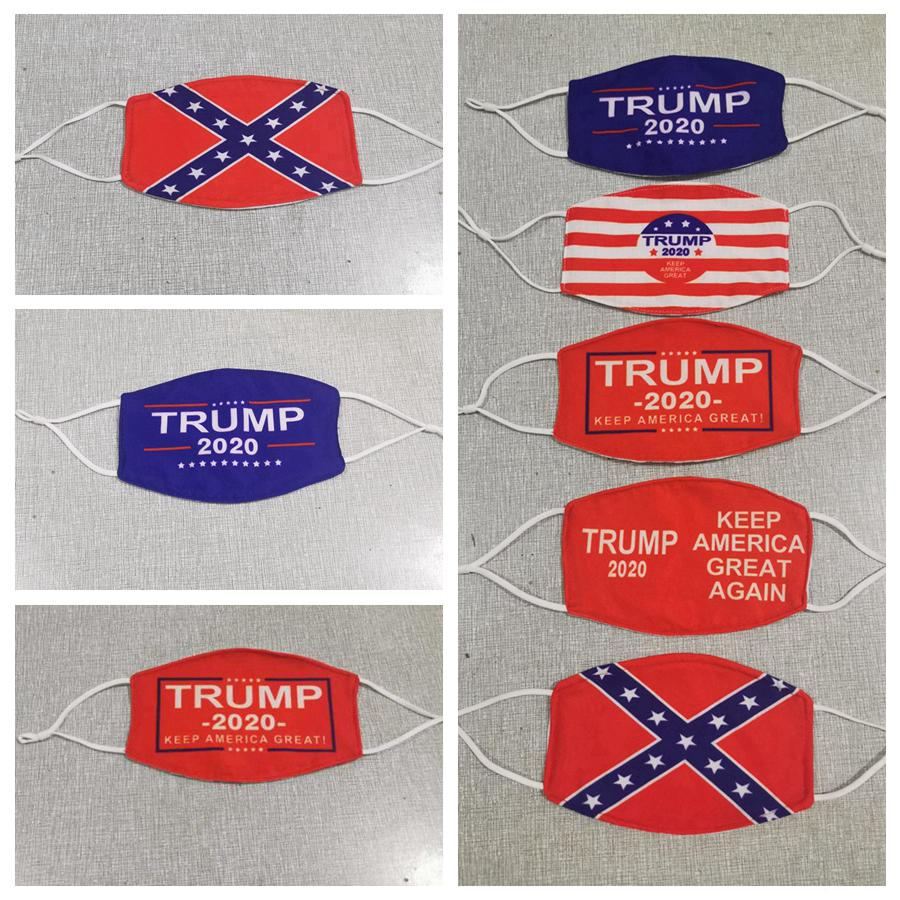 Президент Trump Face Mask Make America Great снова США Избирательные Маски штата Миссисипи Flag Маска Анти пыль Моющийся Дизайнерские Маски RRA3361