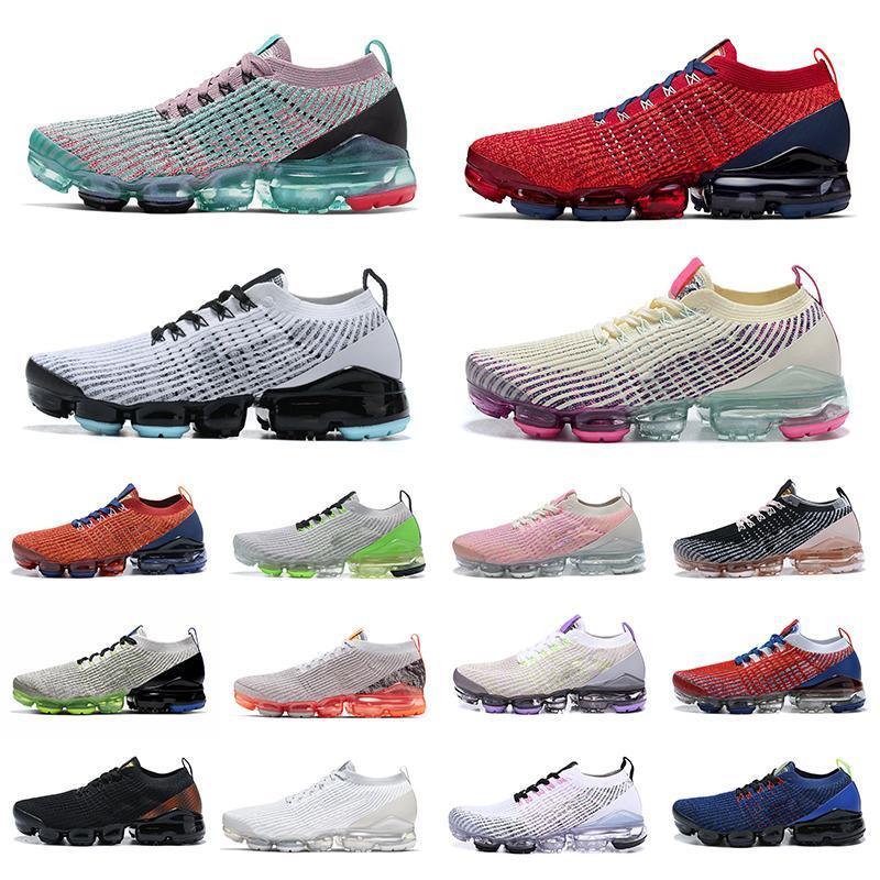 2020 neue Herren Laufschuhe Chaussures 2019 Knit Designer Sneakers Top-Qualität der Frauen v3-Sport-Trainer Mesh-Eur 36-45