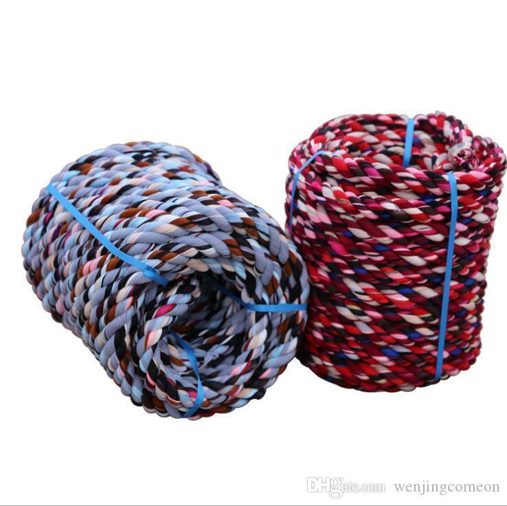 Tirón de la cuerda Guerra deporte al aire libre para adultos niños de juego de la Competencia Trabajo Cordón de algodón cuerda equipo de juego de niños al aire libre juega 20/30 / 40M