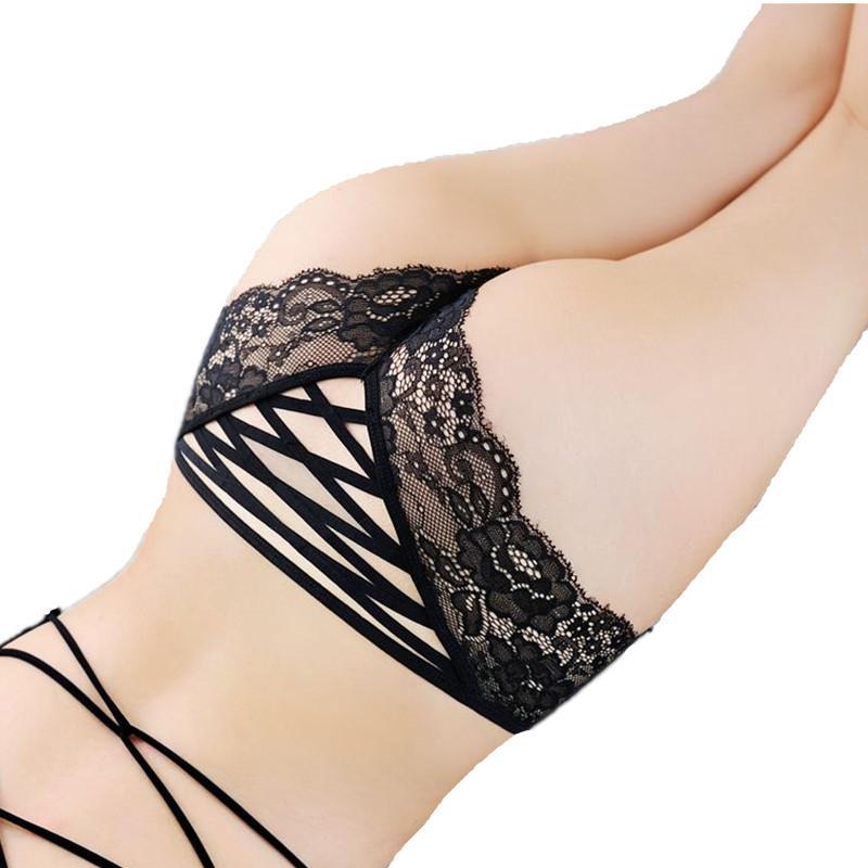 Neue Spitze-Schlüpfer-reizvolle Frauen-Briefs Unterwäsche-Spitze-Wäsche-Dame Hohlquerband Sexy Unterhose Hot Verkauf