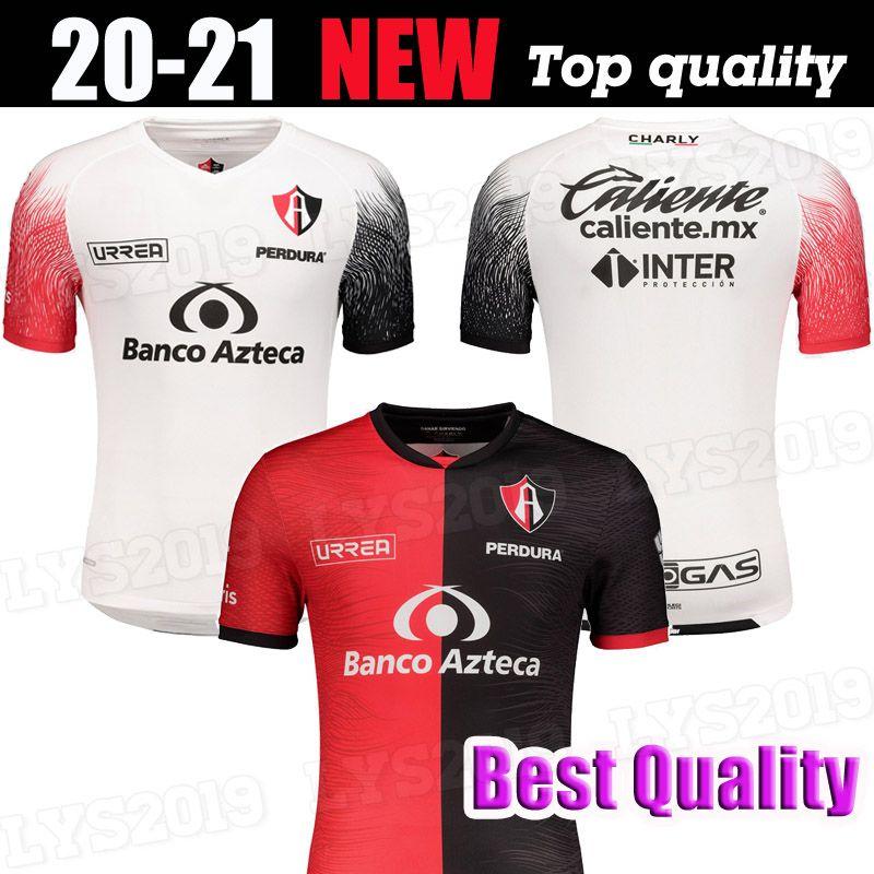 2020 2021 Atlas FC jerseys caseros de distancia 20 21 L.Reyes I.Jeraldino Acosta I. Renato J. Angulo camisas del fútbol de Tailandia maillots