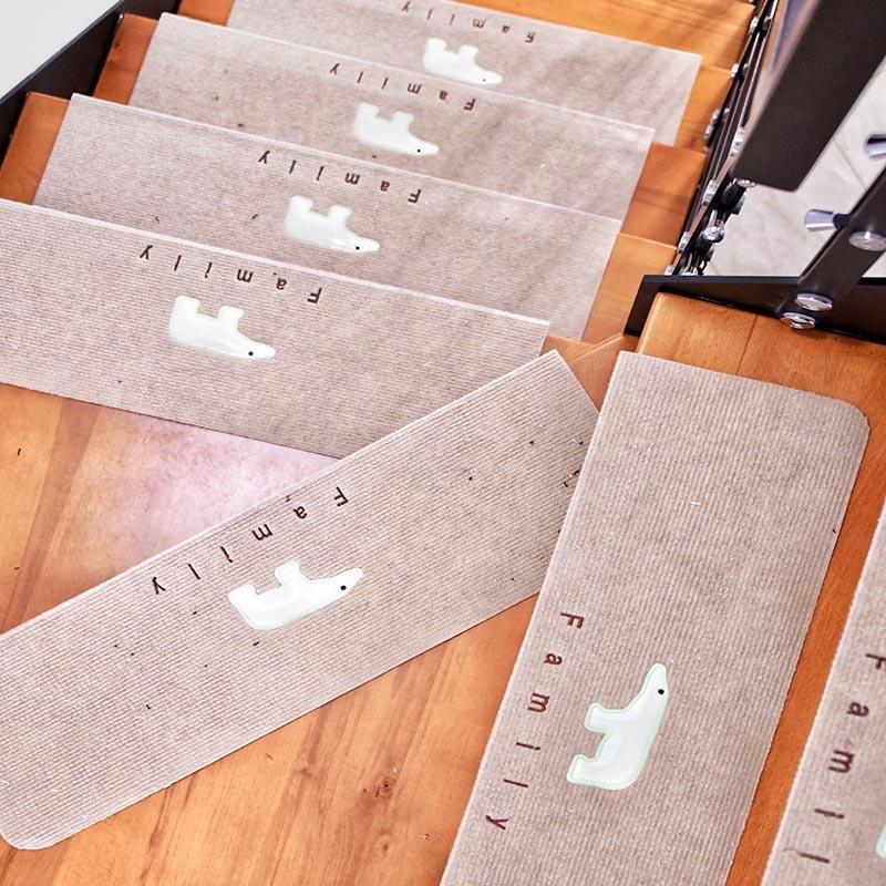 rKJsz Senza colla autoadesiva piano semplice gradino mobilia porta a porta piede Senza colla pavimento autoadesiva Luminous semplice mobilia st
