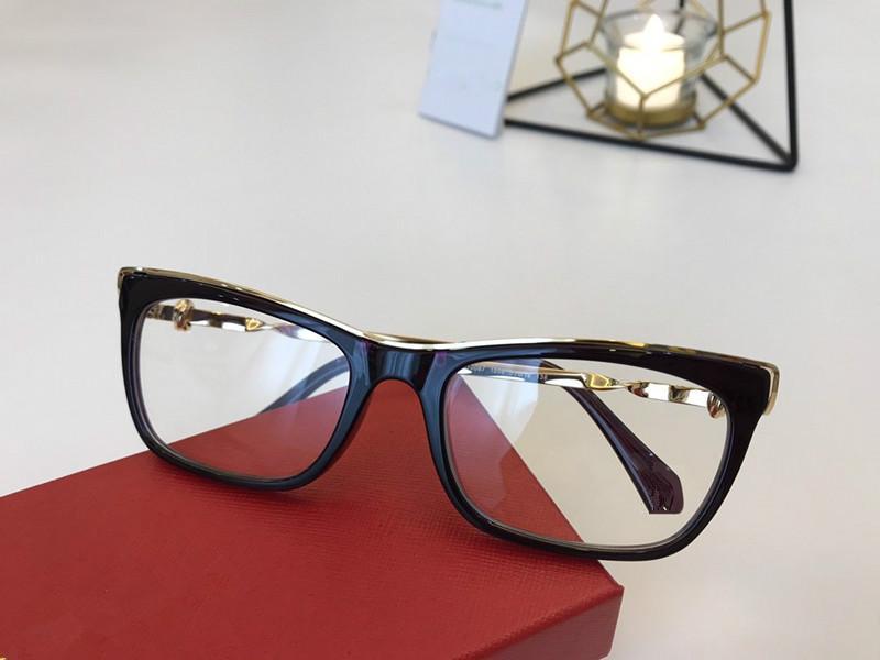 Für Square-Rim NEUE CT0067 Einzelne Luxusmode Kleine Rahmenbrillen 2020 Bein Unisex Entworfene Brillen Design Verordnung Fullset WRBJ