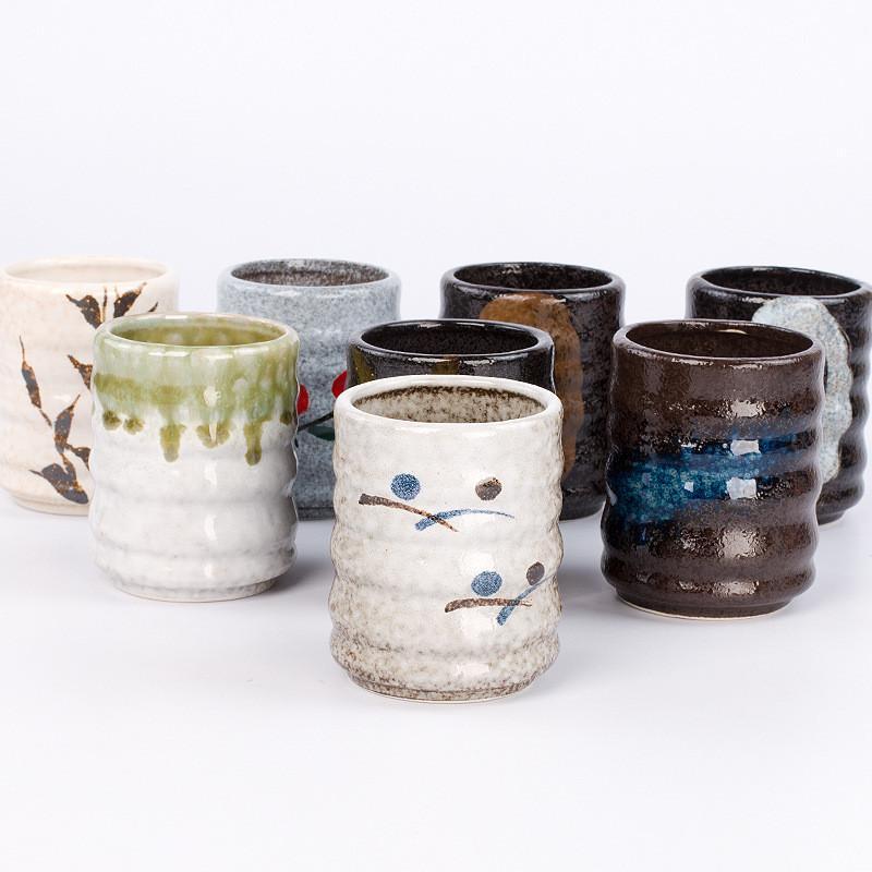 Ceramic Cup ristorante giapponese in ceramica tazze da tè Boutique Master Cup di tè della porcellana ciotola di ceramica creativa acqua del tè Tazze