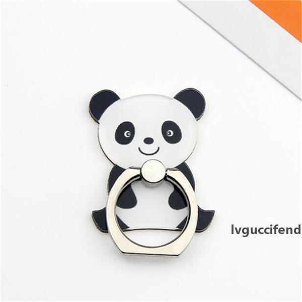 Cartoon animaux Panda téléphone portable Support à doigt support Anneau Smartphone Holder mignon de chat Stand pour iPhone 9 x 8 7 6 Xiaomi Tous les téléphones