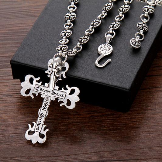 Herz Halskette Trendy Männer Hip Hop R1se Kreuz Dekorative Pullover Kette Net Rot Quan Zhilong Ins Anhänger Zubehör