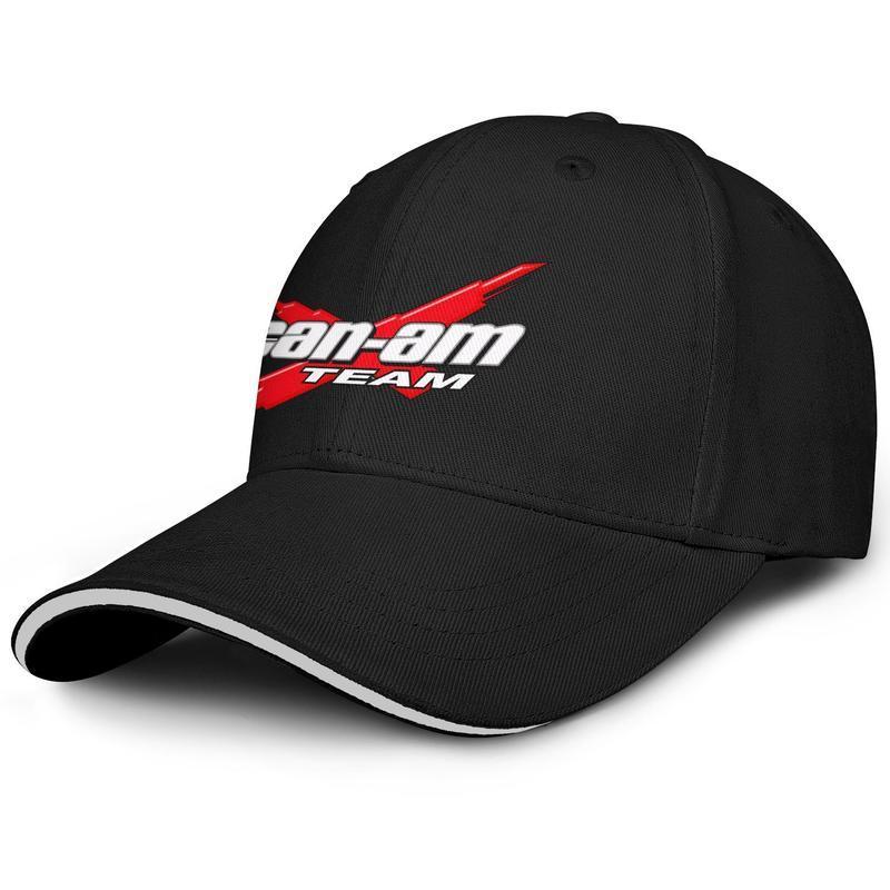 Unisex Can-am Logo Moda Beyzbol Sandviç Şapka beyzbol Sevimli Kamyon sürücüsü Cap can-am takım motorlu