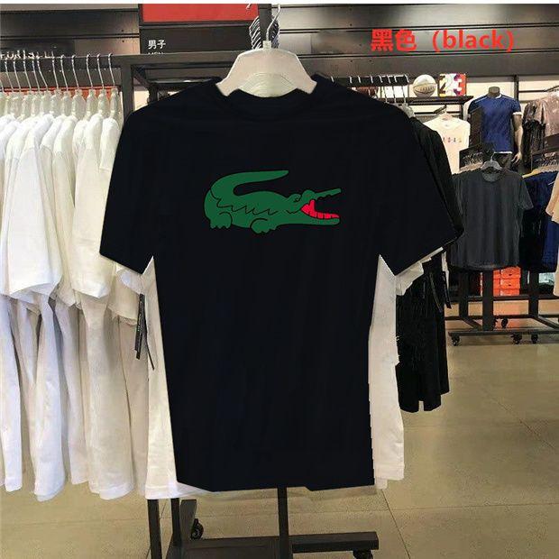 T-shirt do desenhista 2020 dos homens de verão e nova moda casuais mangas curtas das mulheres casais coreanos dos homens solta mangas curtas