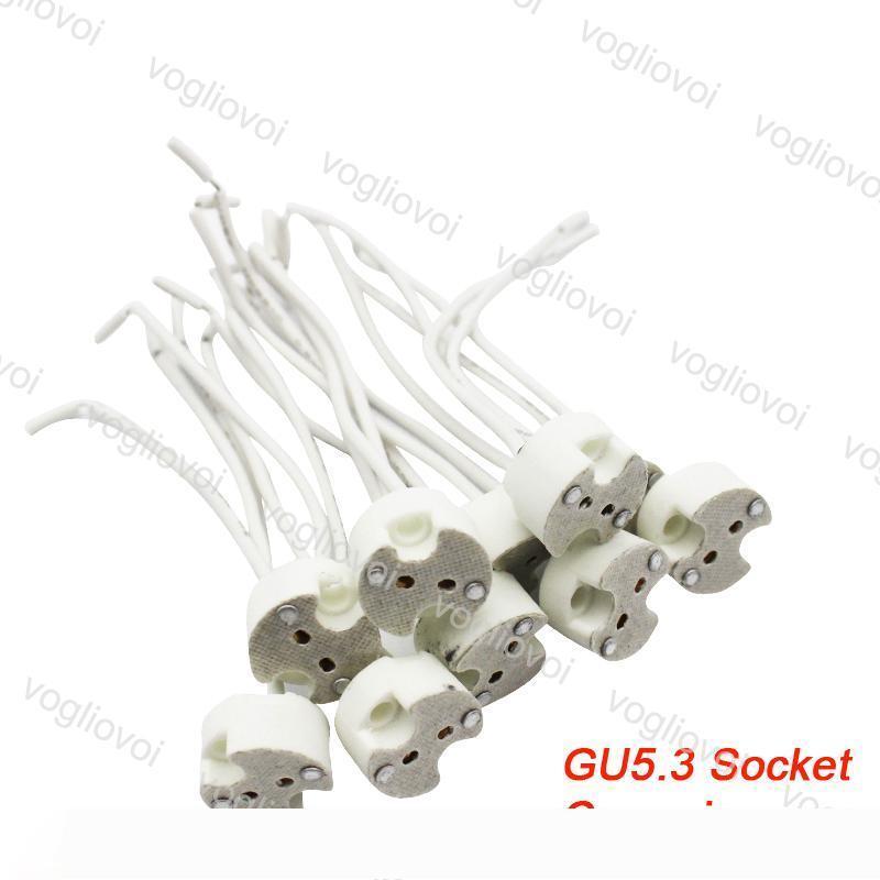 Tutucu Adaptörü Dönüştürücü EUB Aydınlatma LED Wire 150mm Bağlayıcı MR16 GU5.3 MR11 G4 GX53 LED Soket Led Ampul Halojen Lamba Üs