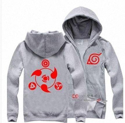 Atacado-a melhor qualidade Anime Naruto Vestuário Syaringan Estilo camisola Hoodies Cosplay com capuz jaqueta casaco yTLT #