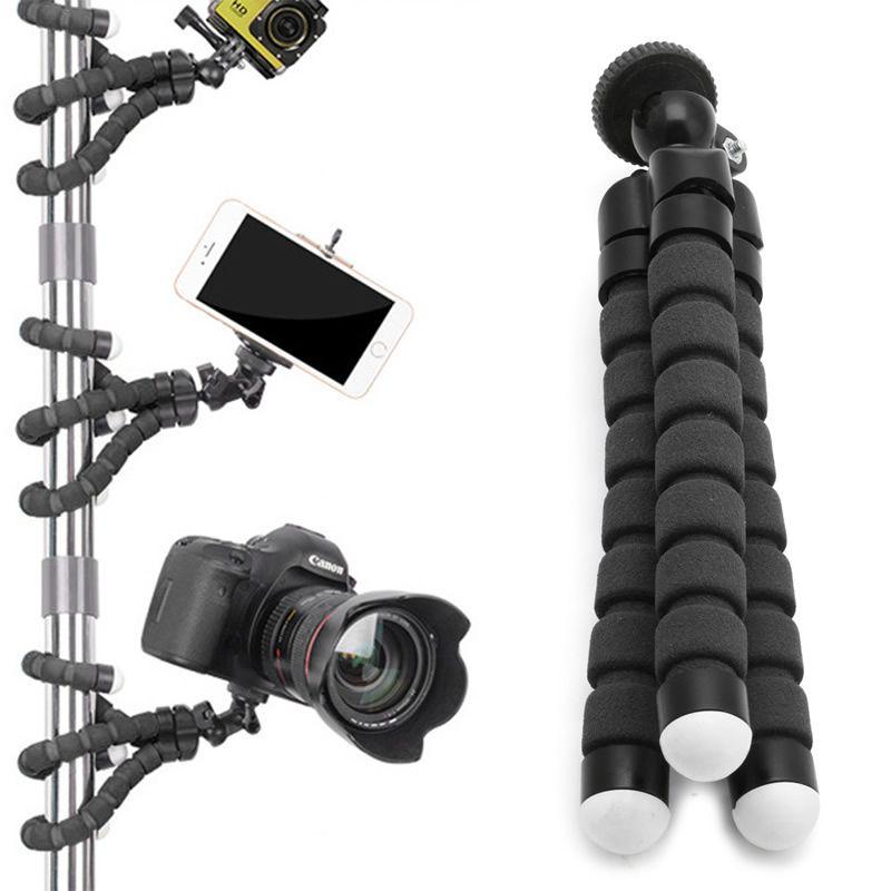 Mini trípode flexible del pulpo del soporte del sostenedor del montaje para el iPhone de Apple para GoPro cámara de la cámara en vivo celebridades soporte de herramientas de Internet