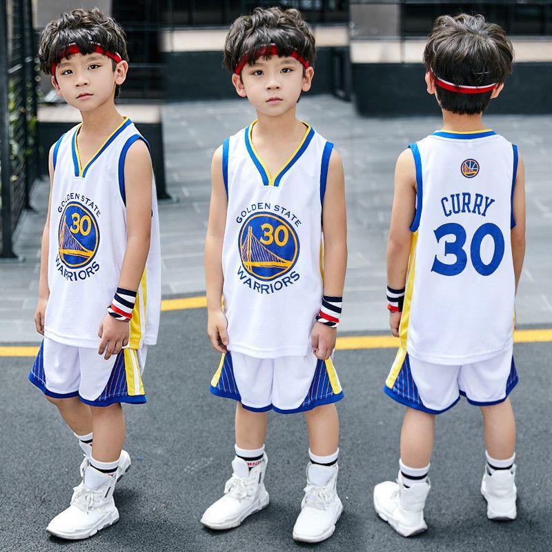 2020 Basketball-Training Jersey kurze Combos für Jungen 2 Stück Basketball Performance-Top und Shorts Set Geburtstagsgeschenk Geschenk für kleines Kind
