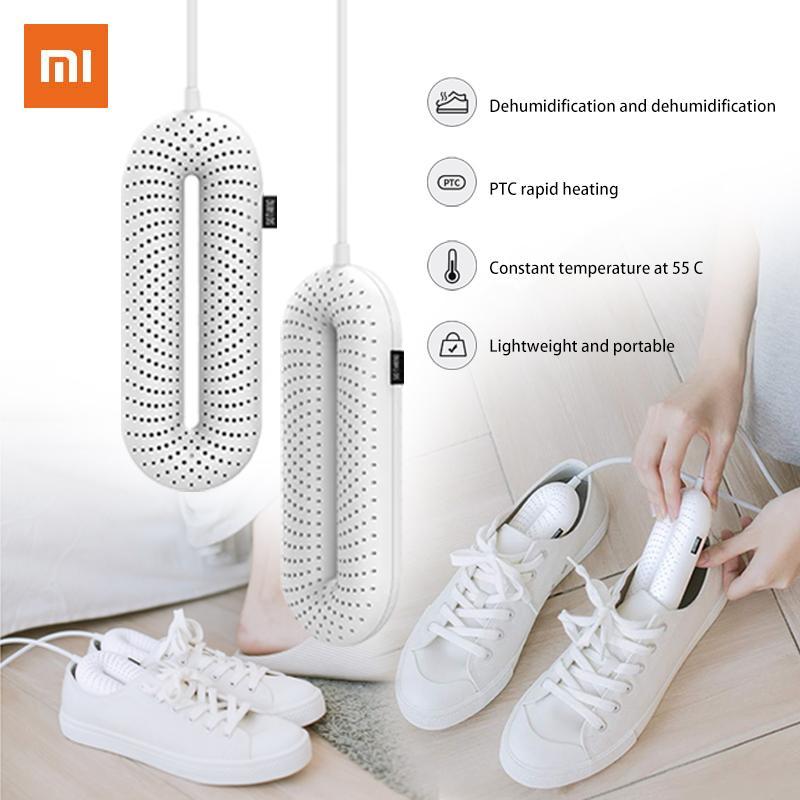 Xiaomi youpin Sothing Chaussures Sèche-Heater Sèche-chaussures portable stérilisation électrique UV température constante séchage désodorisation